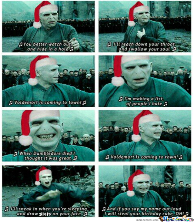 Christmas Memes Philippines.Voldemort Christmas Song By Gabz29 Meme Center