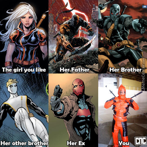 Wade Wilson Never Had A Chance.(Is It Weird He Share's The Last Name ?)