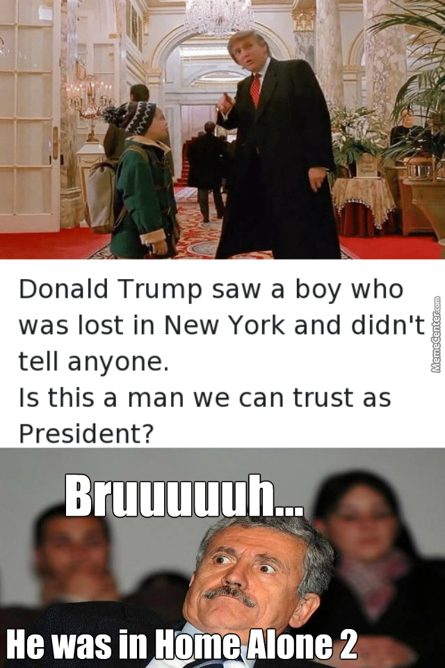 Wait....donald Trump Is In Home Alone 2?....bruhhhhhhhh What The....