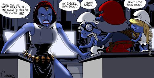 Papa Smurf Memes Best Collection Of Funny Papa Smurf Pictures