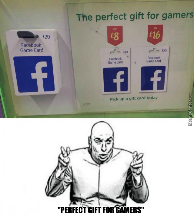 Wait, There Are Facebook Game Cards???? by andrej ristevski