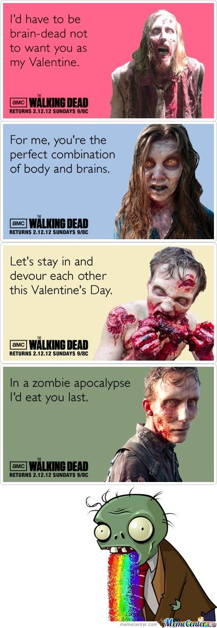 Walking Dead Love cards