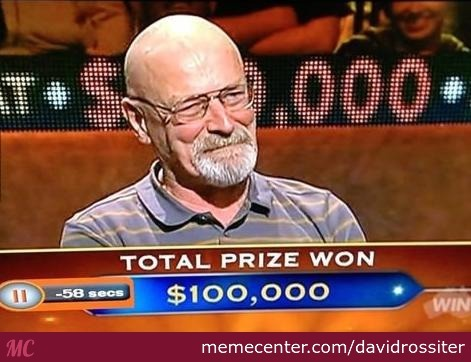 Walter White Loves Game Shows