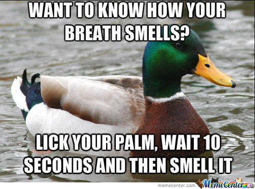 Want To Know How Your Breath Smells?