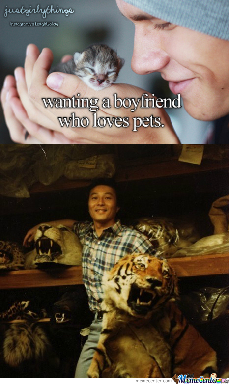 Wanting A Boyfriend Who Loves Pets