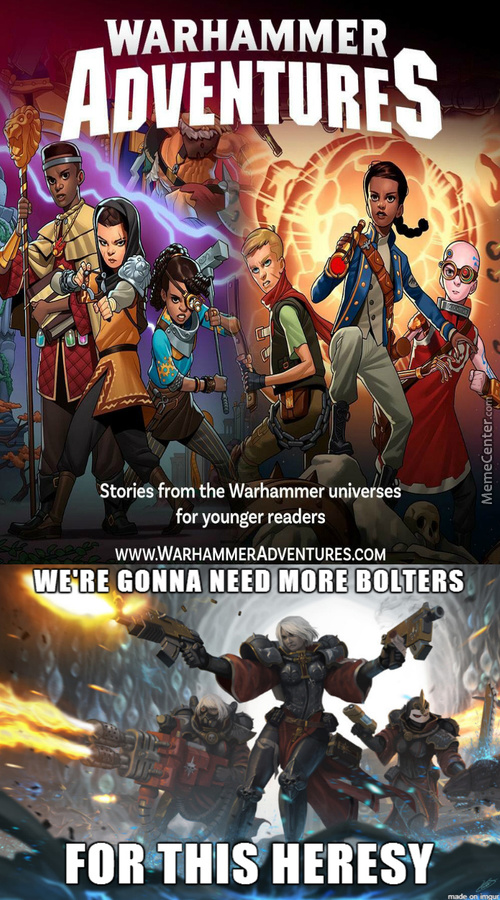 Warhammer Is Lost Now Too.hey Samuel Did You Already Saw This?