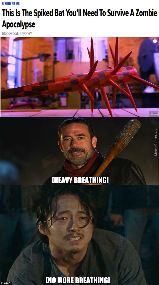 Negan Memes Best Collection Of Funny Negan Pictures