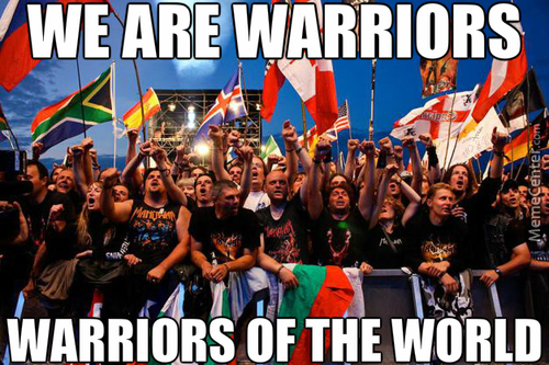 Warriors Of The World \m/