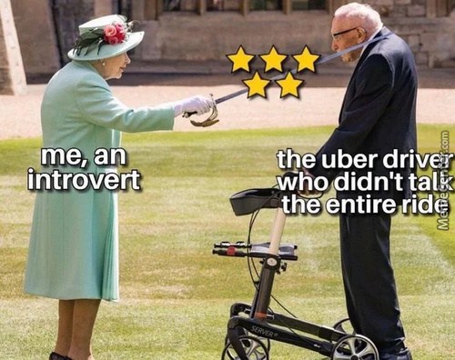 Was I Really This Good On The Ride?, Thought The Uber Driver...