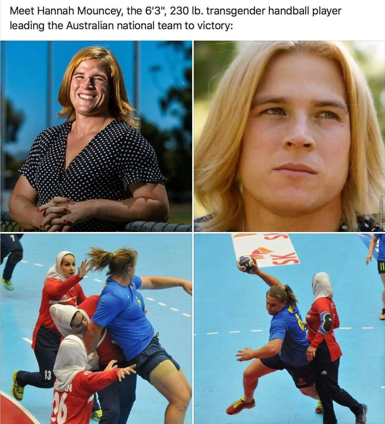 Watch All Sports Be Dominated By Trans Males To Females