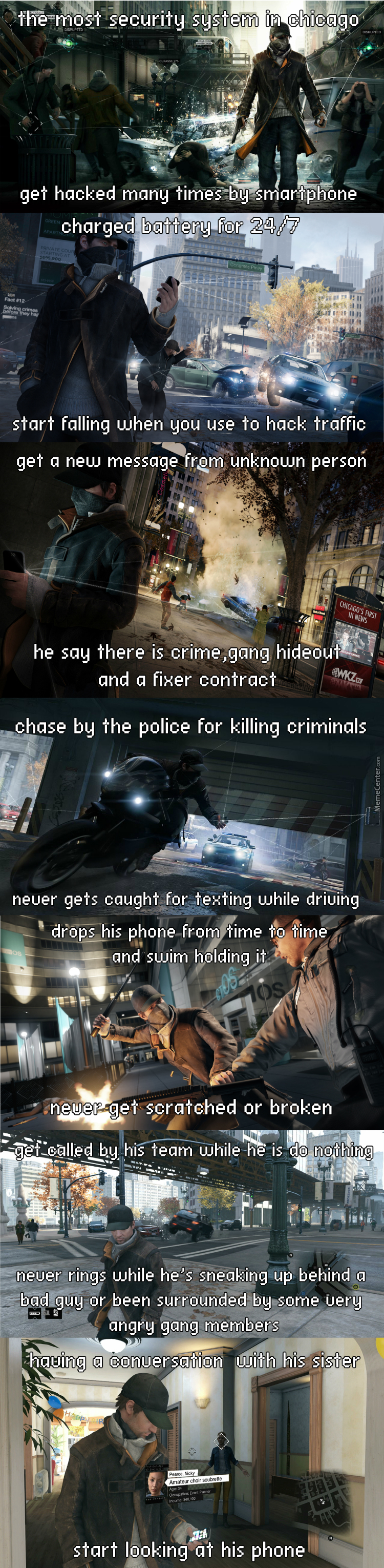 Watch Dogs  Logic