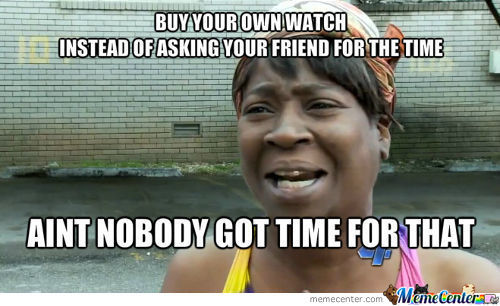 Watches, Why Buy Them
