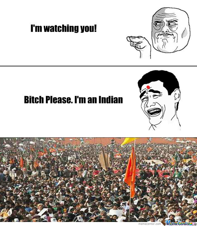 Watching An Indian