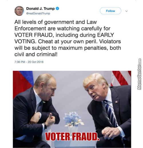 Watching Out For Voter Fraud