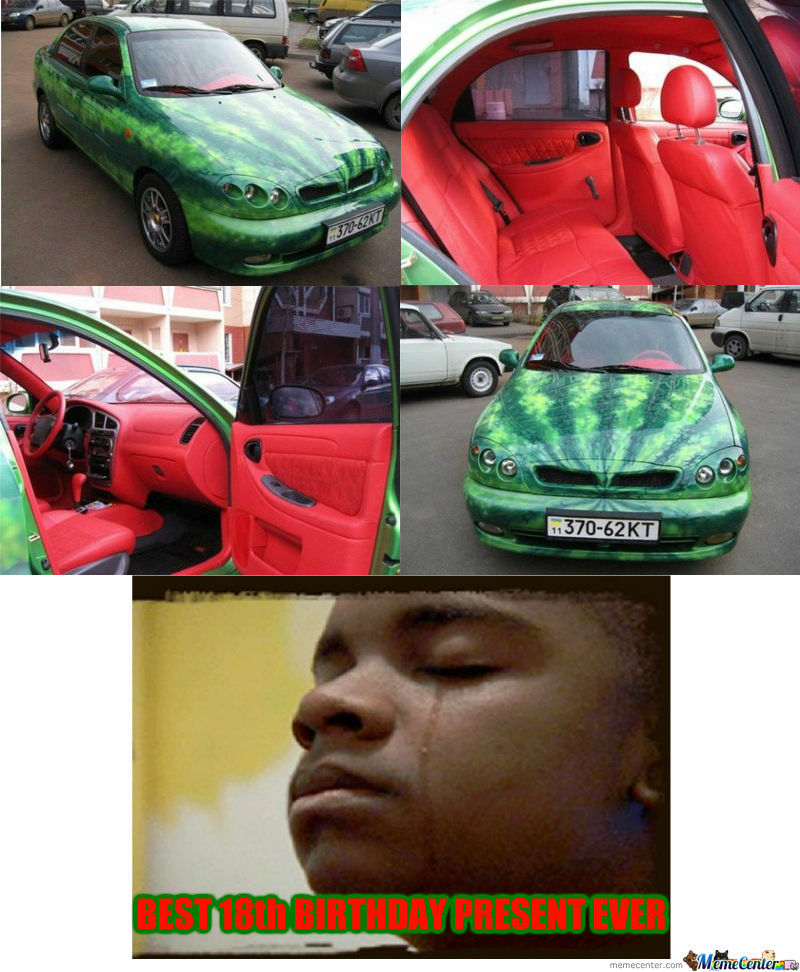 Watermelon Car