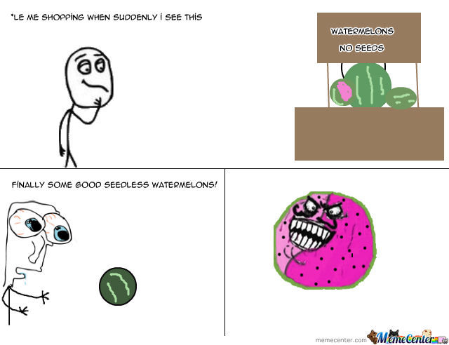 Watermelon Troll