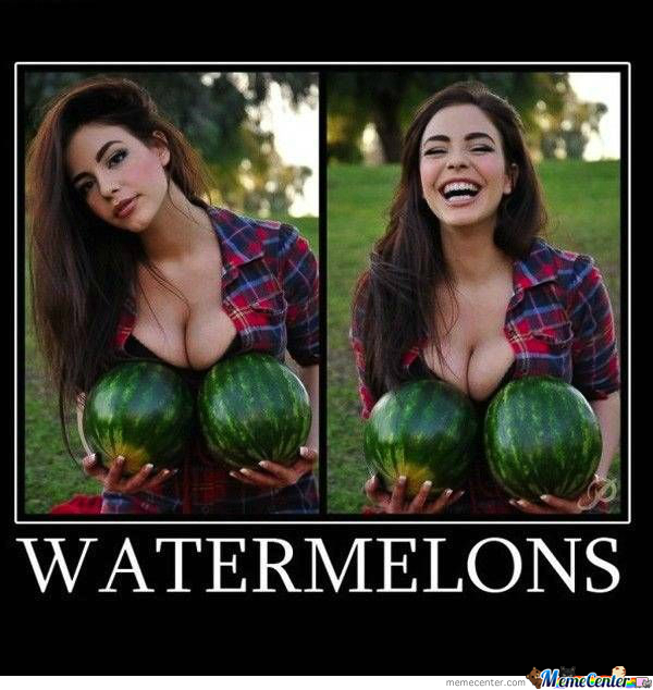 Watermelons And Boobs: Every Single Black Kid Dream