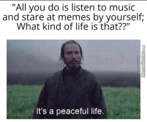 Way Too Peacful