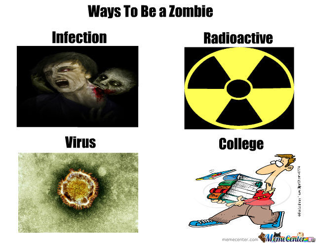 Ways To Be A Zombie