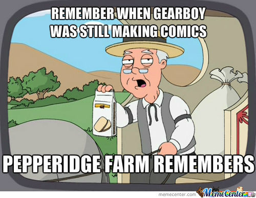We All Will Miss You, Gearboy ;(