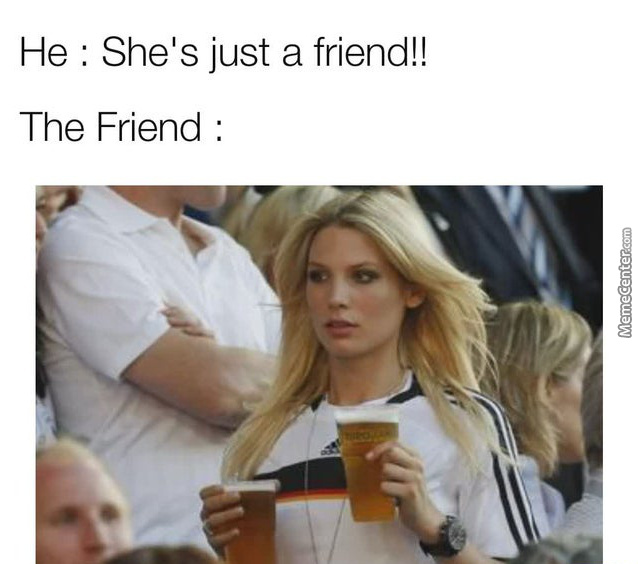 We'Re Just Friends!!