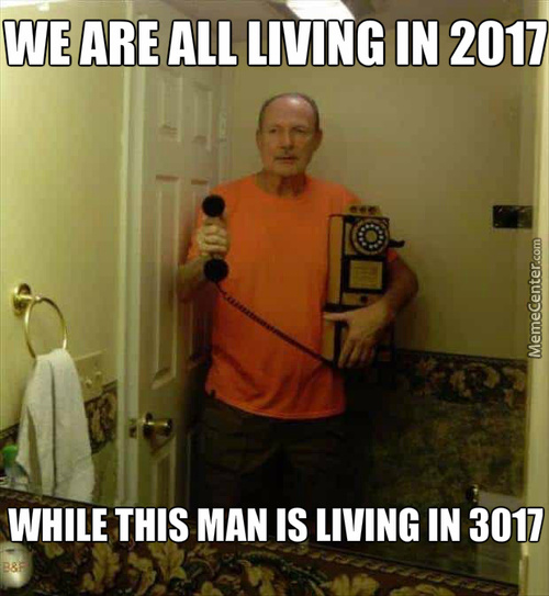 We Are All Living In 2017 While This Man Is Living In 3017