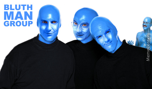 We Blue Ourselves