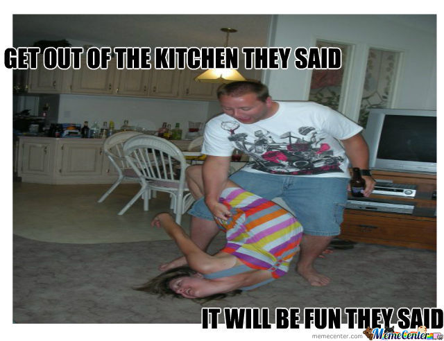 We Had Enough Jokes About Women Leaving The Kitchen By
