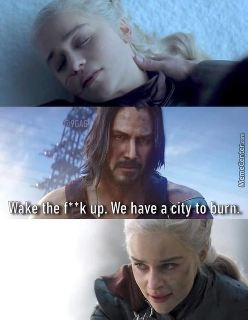 We Have A City To Burn My Queen