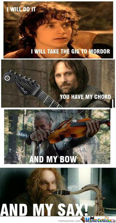 We Will Play In Mordor