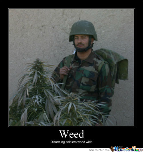 Weed Soldier