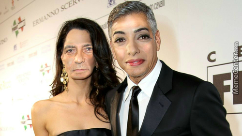 Weekly Photoshop: George Clooney And Amal Alamuddin Faceswap