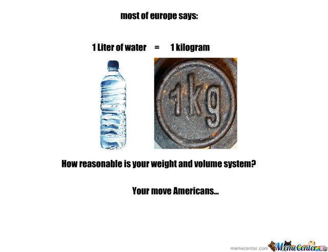 Weight And Volume System