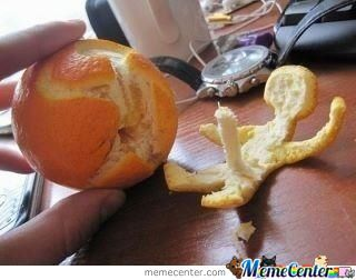Weird Orange Peel