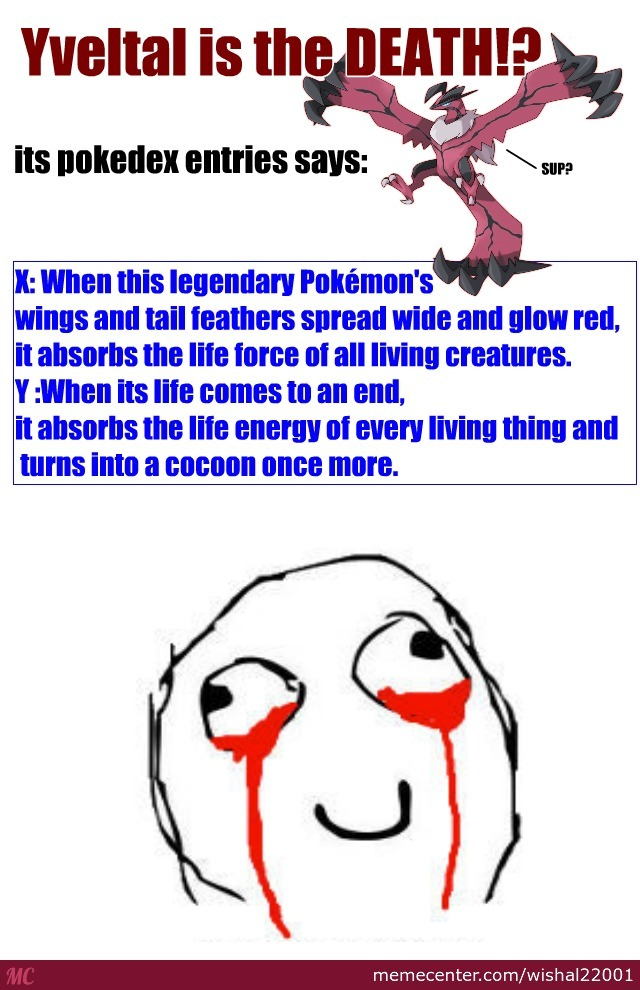 weird pokemon facts  5 yveltal is the dead   by recyclebin