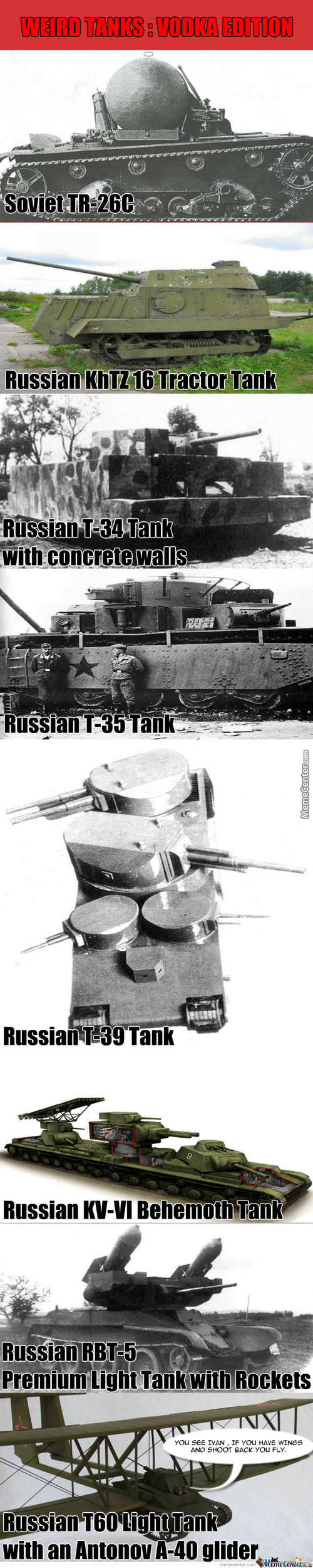 Weird Tanks #2 Vodka Edition