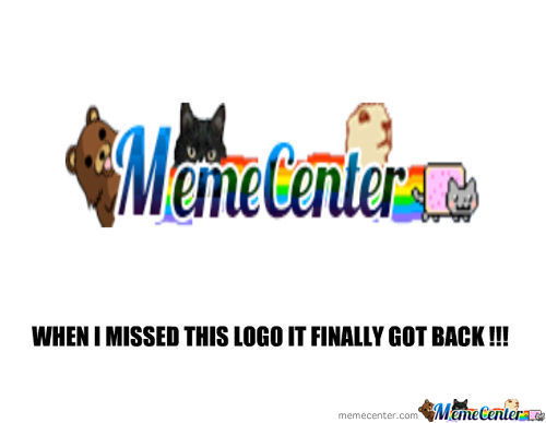 Welcome Back Old Memecenter Logo !