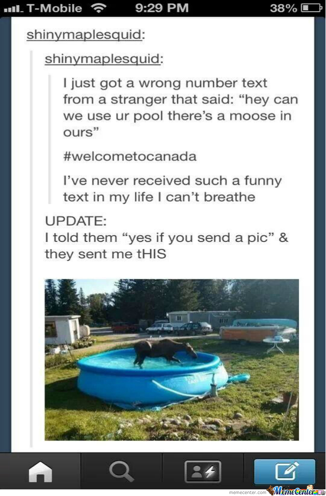 Welcome To Canada, Eh.