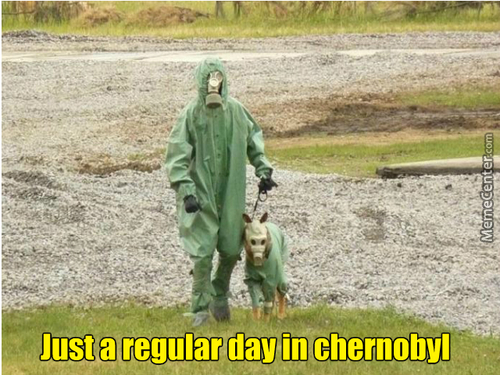 Welcome To Chernobyl I'll Be Your Guide