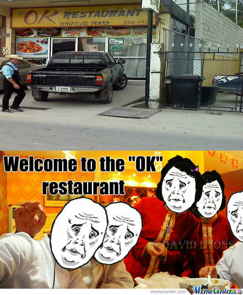 "Welcome To The ""ok"""