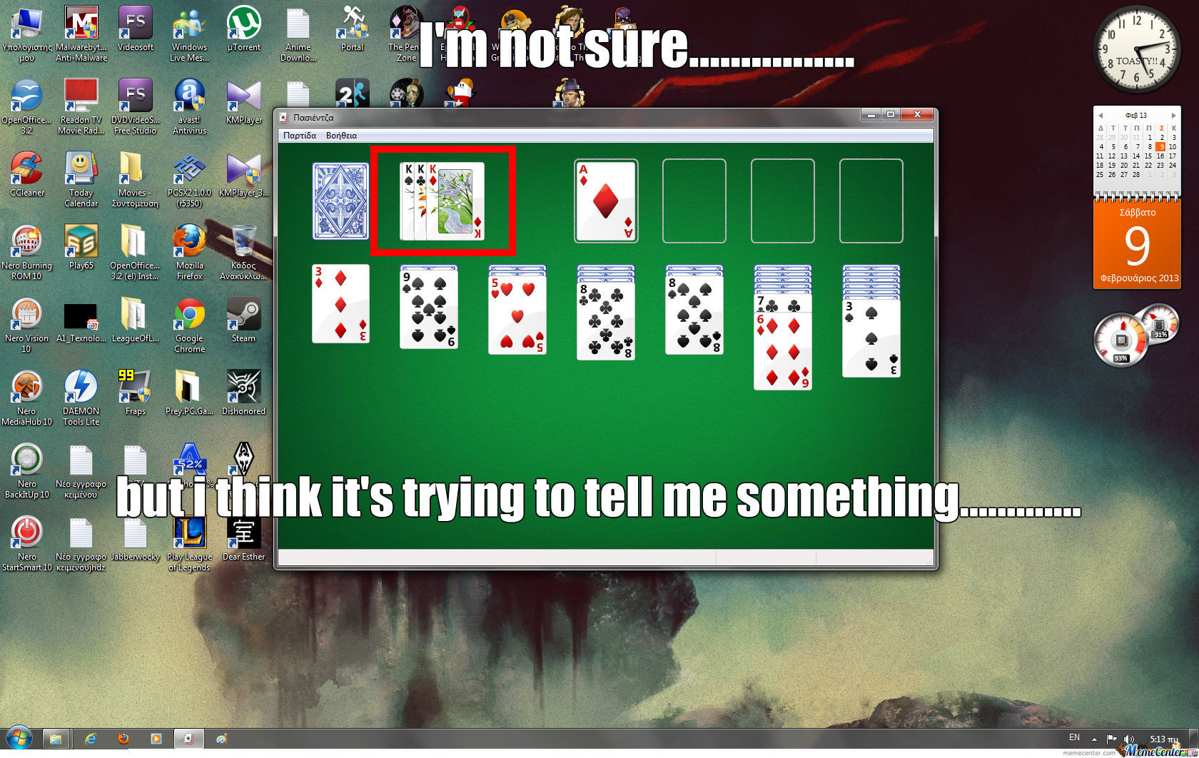 Well Done Solitaire....well Done....