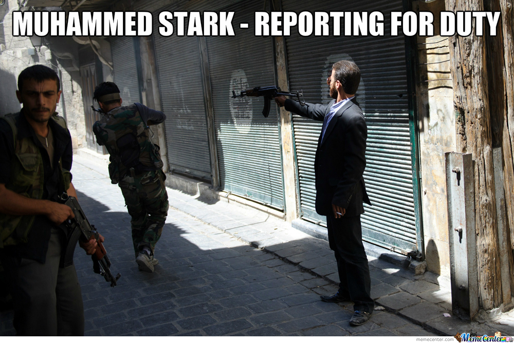 Well Dressed Syrian Rebel
