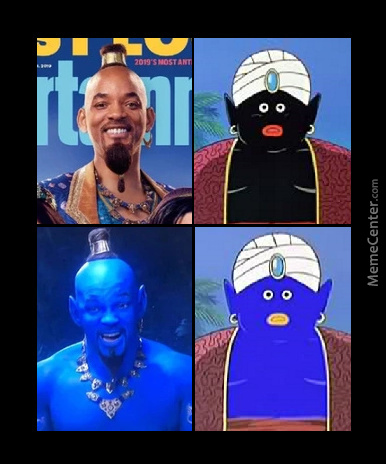 Well If It Doesn't Work Out Being Genie He Can Always Play As Mr. Popo