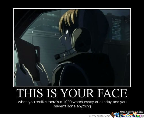 Well, It Is Your Face