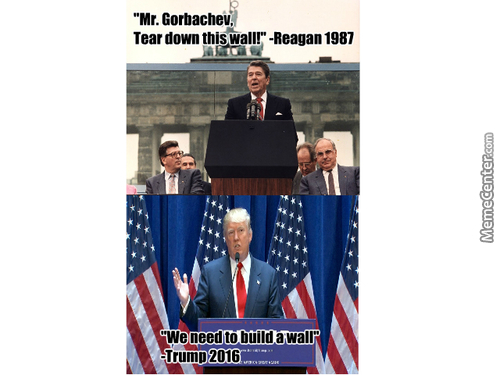 Well It Only Took About 30 Years To Change Their Minds About Walls