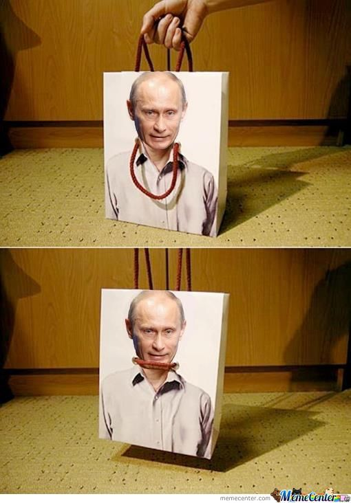 Well Mister Putin Its Time To Leave I Guess