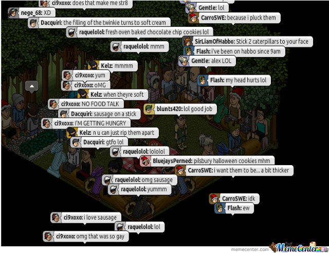 Well Not Only The Language Tells That Its Habbo Hotel Us
