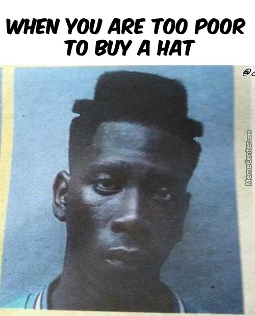 Well That One Way To Getting A Hat, I Think