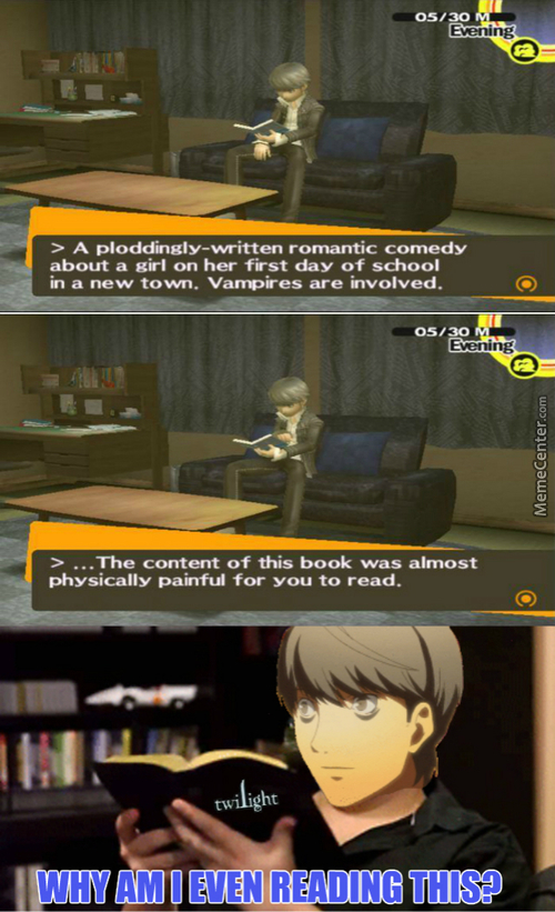 Well, That Was A Load Of Shit (Persona 4)