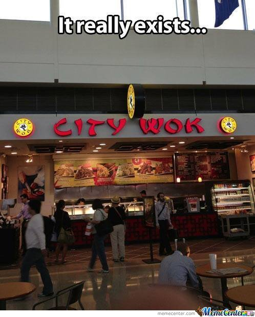 Wercome To Sity Wok,what Wourd You Rike?